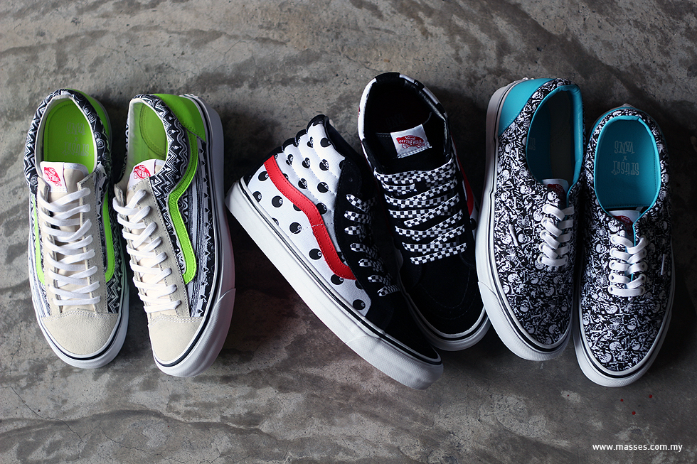 Vault by Vans x Stüssy Spring 2014 Collection Detailed Look - MASSES 4a4b235efac7
