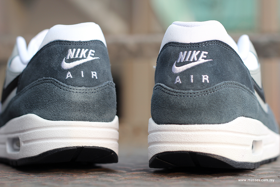 timeless design 25363 c6151 am4. The Nike Air Max 1 Essential features black, anthracite and wolf grey  ...