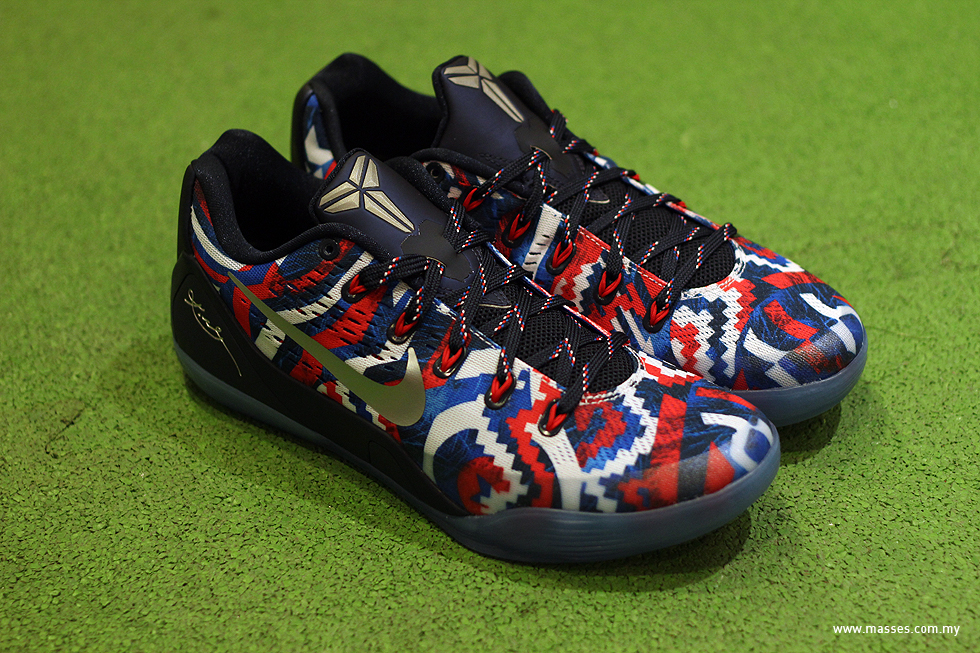 "trama Inyección Barriga  Nike Kobe IX EM ""Independence Day"" Detailed Look - MASSES"