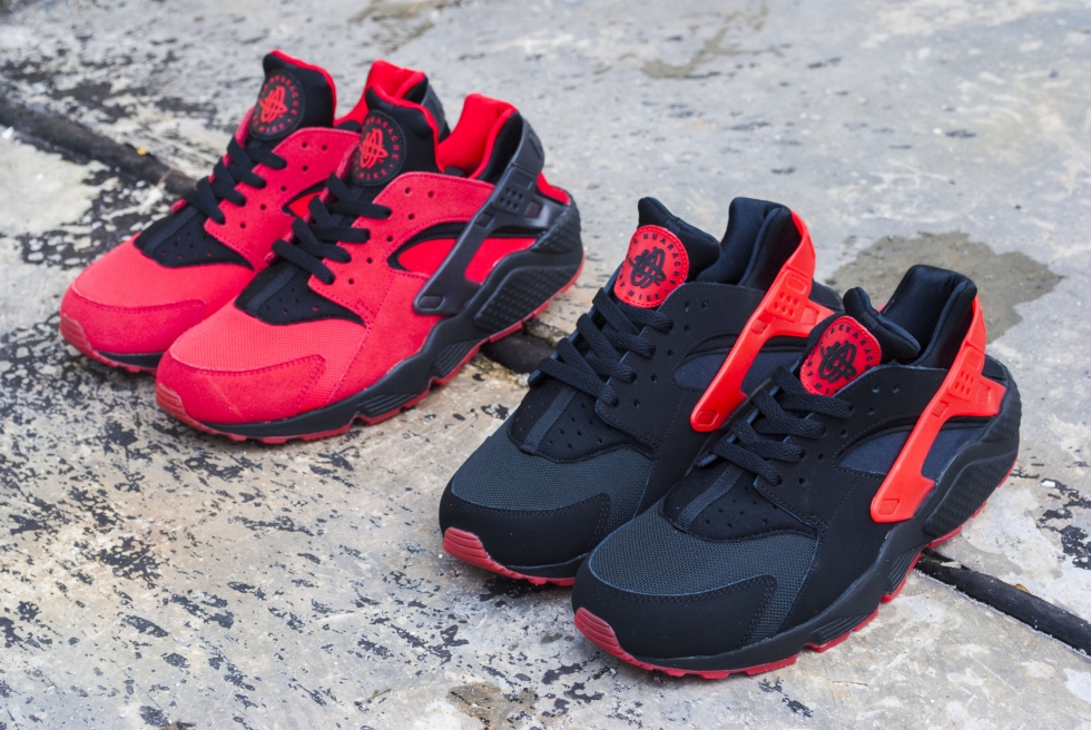 superior quality caebf 4f2a0 Nike Air Huarache line has not stopped spreading with the arrival of a new  colours, these pairs  silhouettes consist entirely of original colourways.