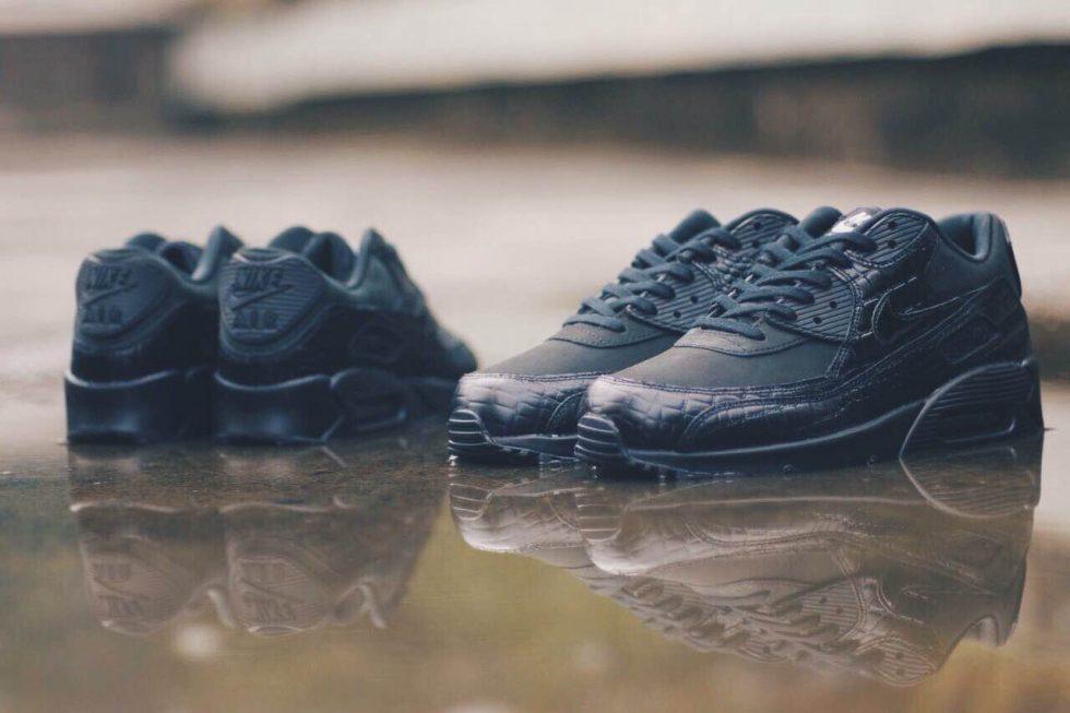 Nike Air Max 90 Black Croc lanarkunitedfc.co.uk