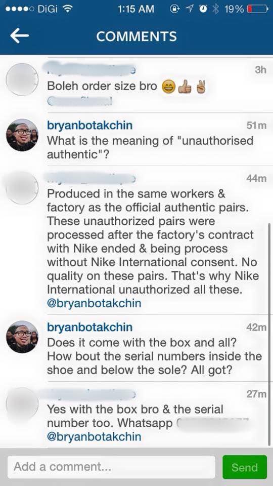 Unauthorized Authentic\