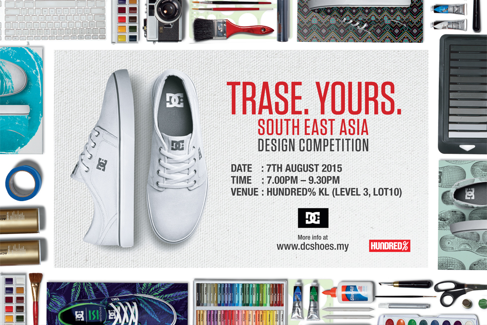 HUNDRED% will be the host for the shoe design competition 08718852d5e6b