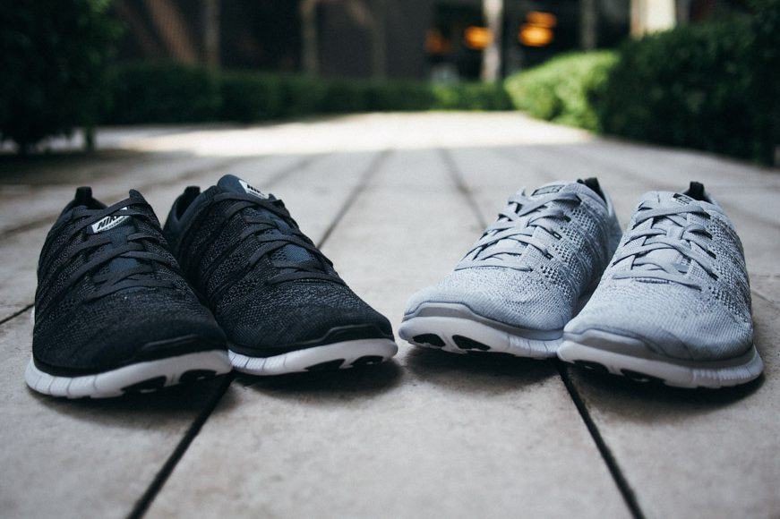 Nike Free Flyknit Nsw Wolf Grey
