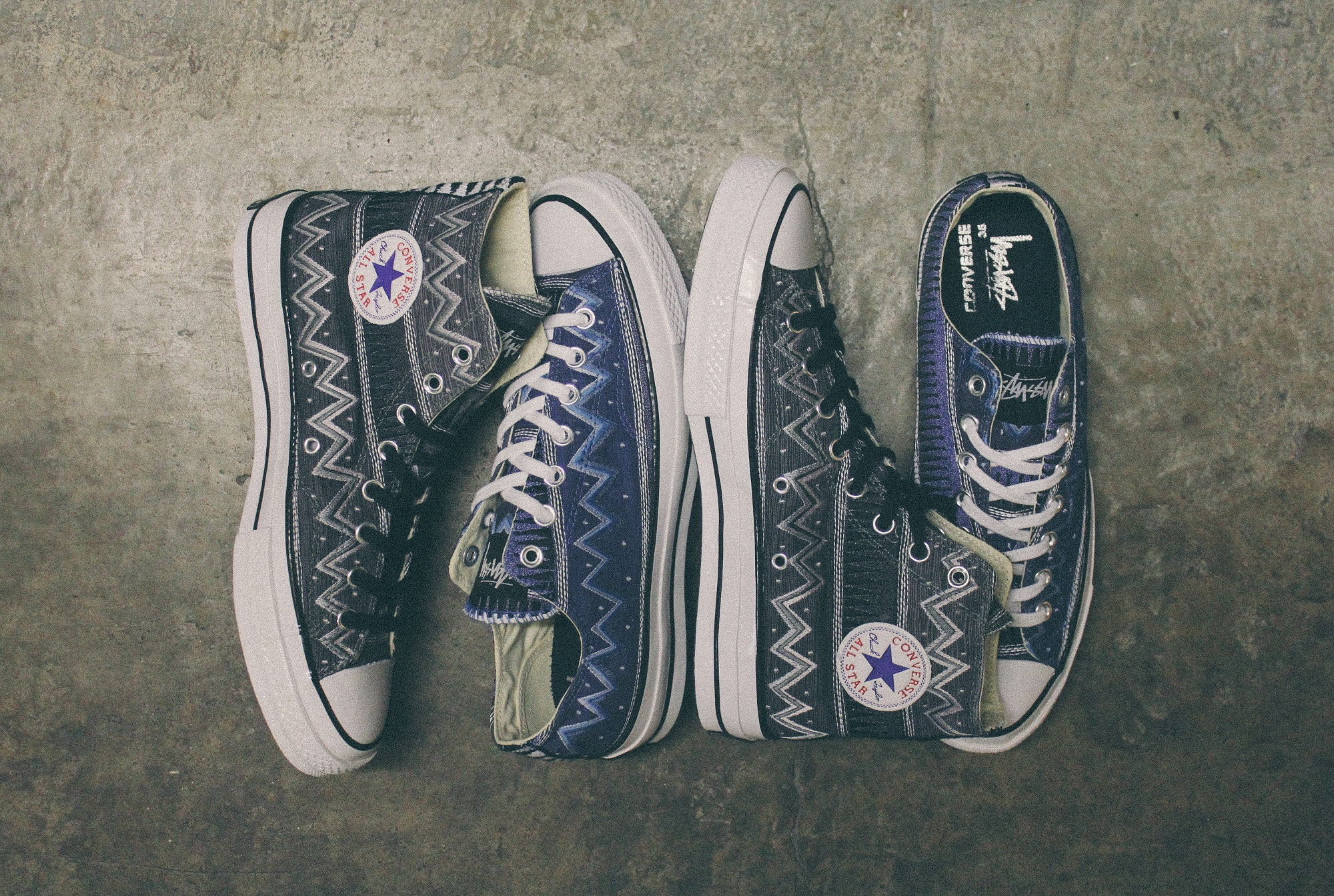 26c63aca4c9a Converse Chuck Taylor All Star  70 Stüssy 35 Collection - MASSES