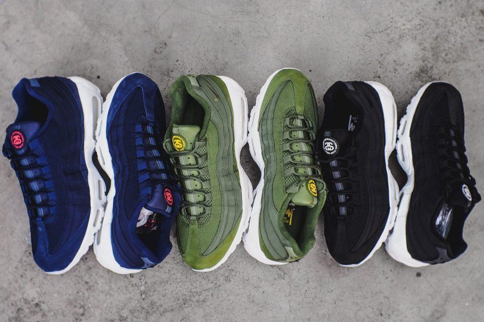 best sneakers b0f75 f2944 Stussy X Nike Air Max 95 Pack - MASSES