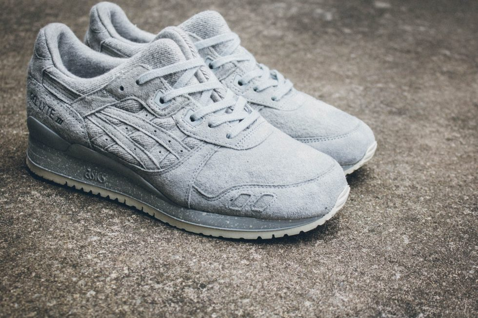 more photos c8638 a10f9 Reigning Champ X Asics Tiger Gel Lyte III Pack - MASSES