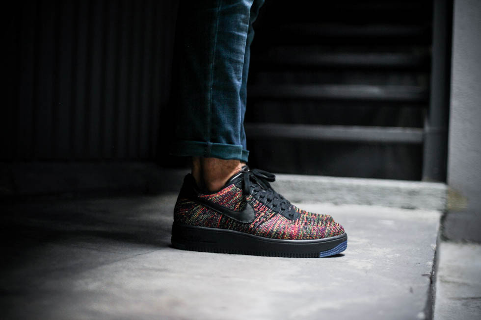 On Feet Look At Air Force 1 Flyknit Low Masses