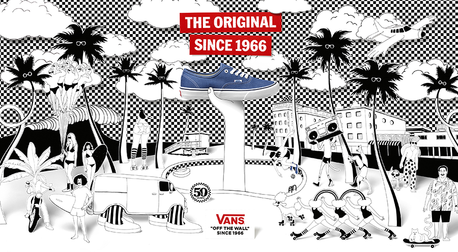 vans off the wall advertisement