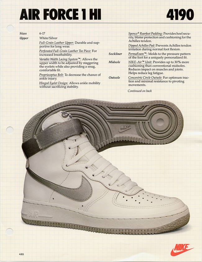 a4b1af87ccb9 HISTORY101  Nike Air Force One - MASSES
