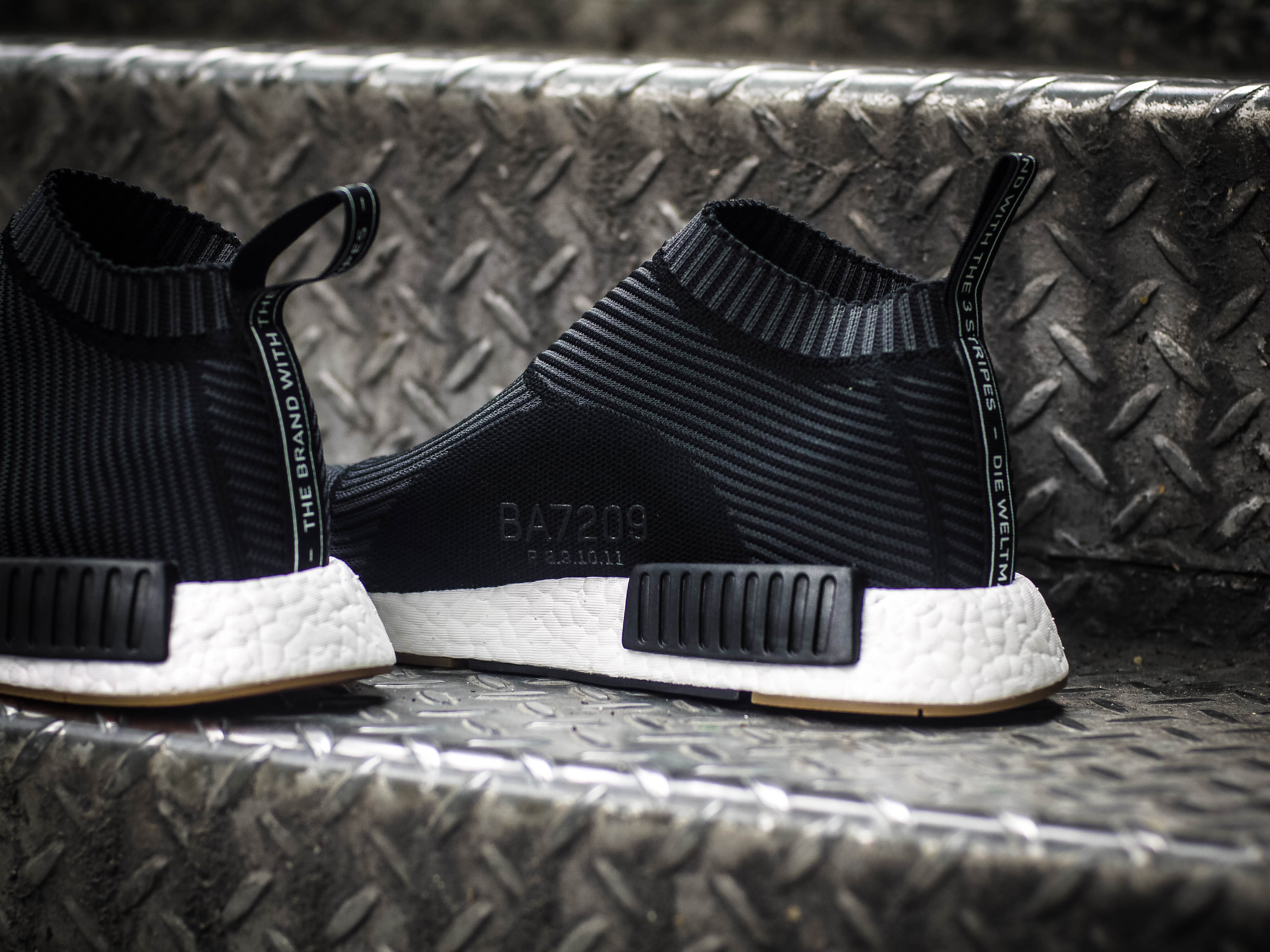 ADIDAS NMD PRIMEKNIT CITY SOCK BLACK SIZE 8.5 10.5 CS1
