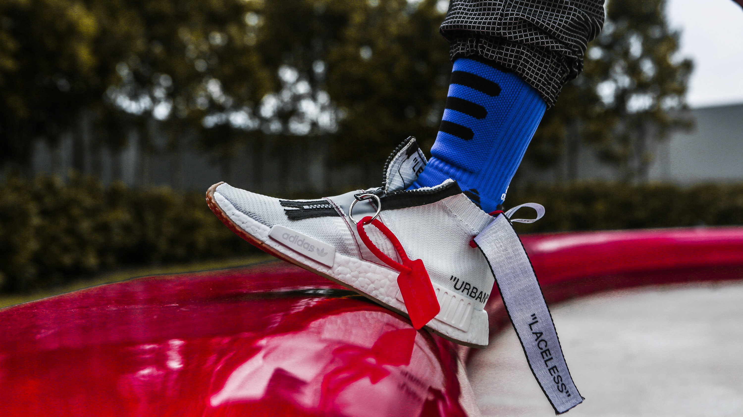 premium selection f7827 7aa05 This adidas NMD Custom Explores What An Actual OFF-WHITE NMD ...