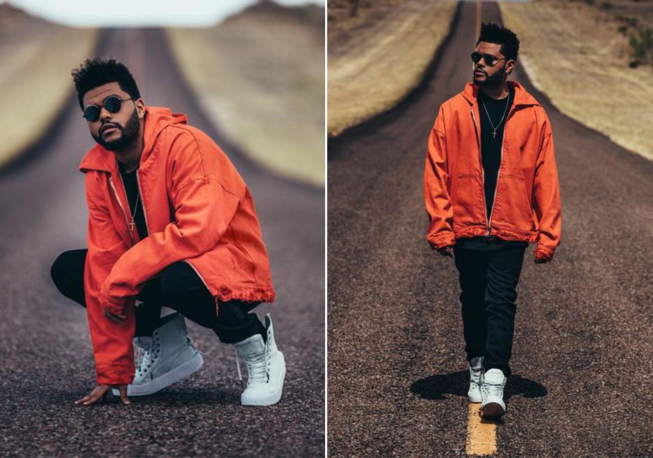 The Weeknd debutes Puma x XO Parallel