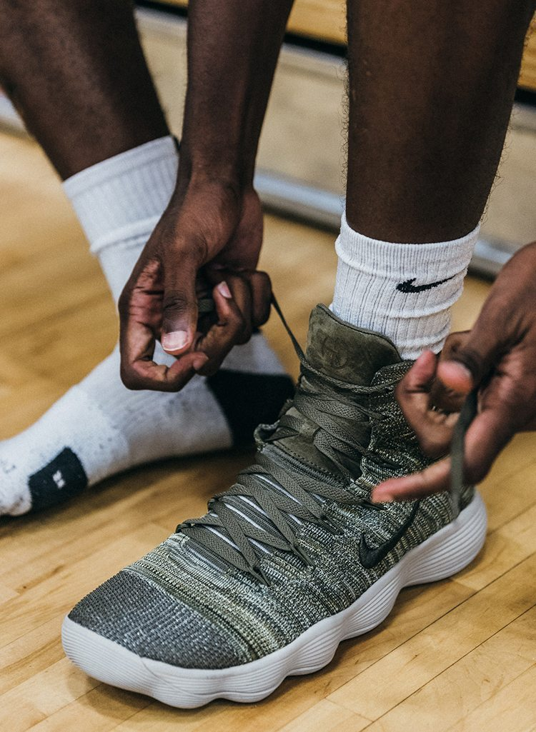 28f232fc03fb ... Cargo Khaki Photos sivasdescalzo Nike Basketball Constructed New  Cushioning System With The REACT Hyperdunk 2017 Flyknit - MASSES NikeLab ...