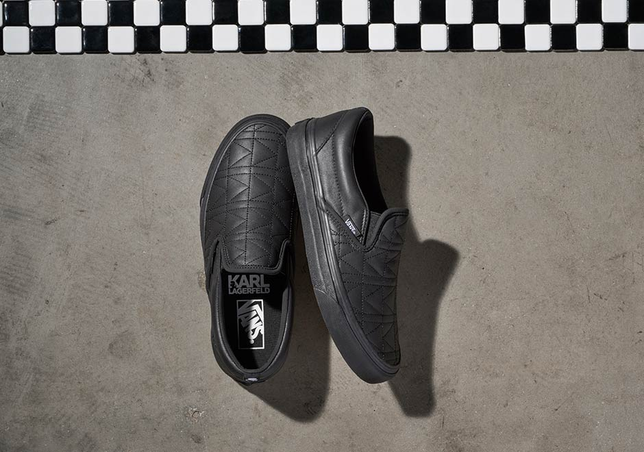 Vans and KARL LAGERFELD unveil Fall 17 collection MASSES