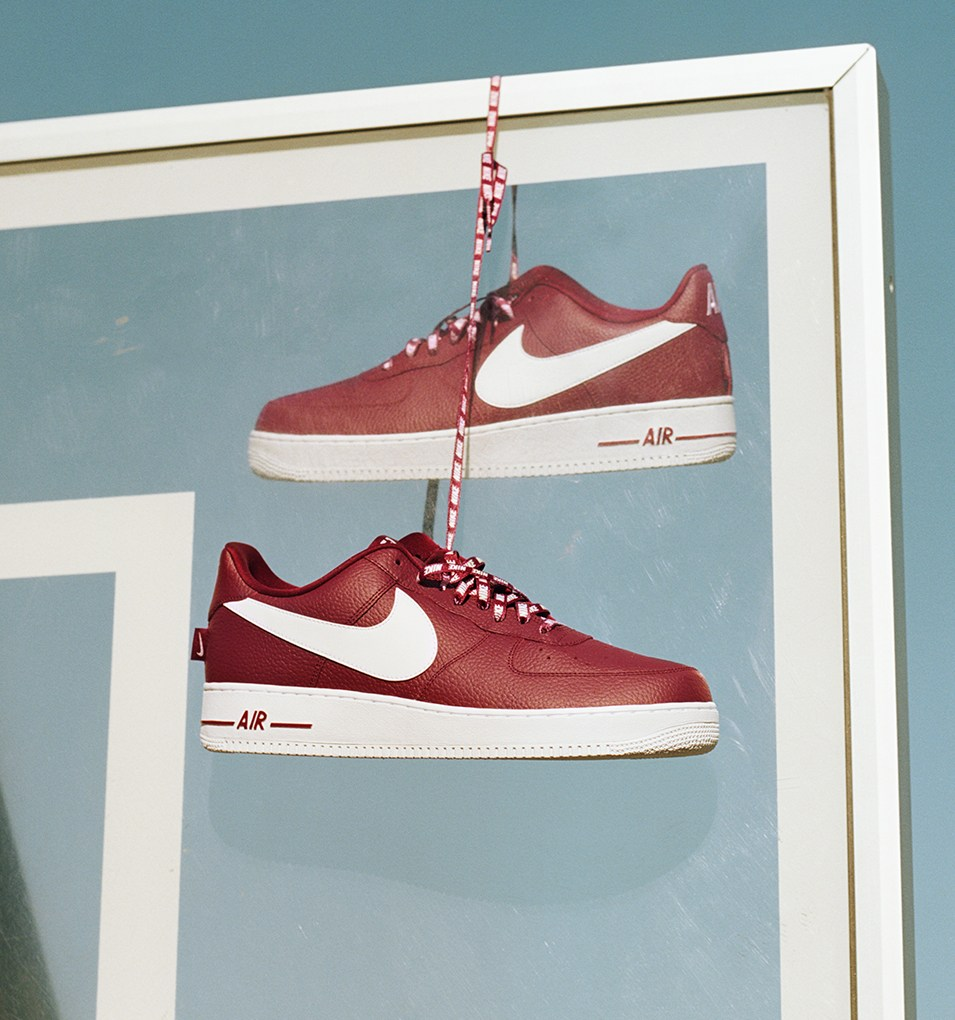 Nike Celebrates Partnership With NBA Releasing Air Force 1