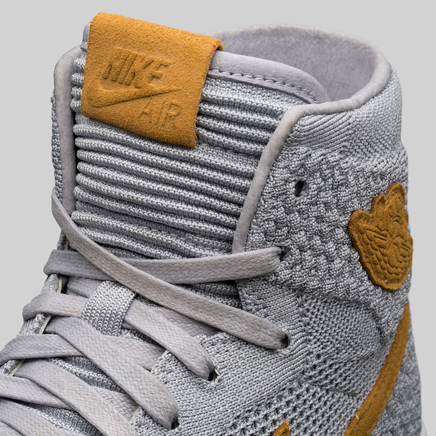 cdaddbbd0ceb The Third Edition of The Air Jordan 1 High Flyknit Debuts In  Wolf Grey  -  MASSES
