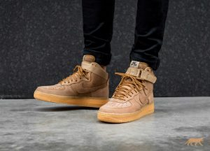 c804f9968c07 95.00 Nike Air Force 1 LV8 Fall Makeover In Flax - MASSES Nike Air Force 1  07 WB ...