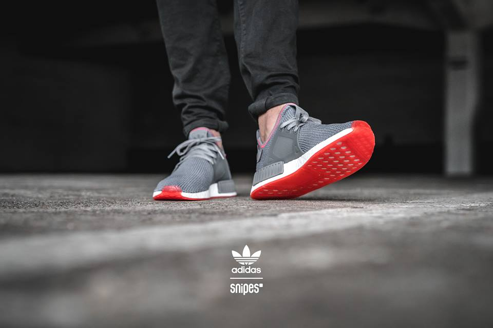 Adidas NMD XR1 PK OG Black Red Blue BY1909 Size 11.5 LIMITED