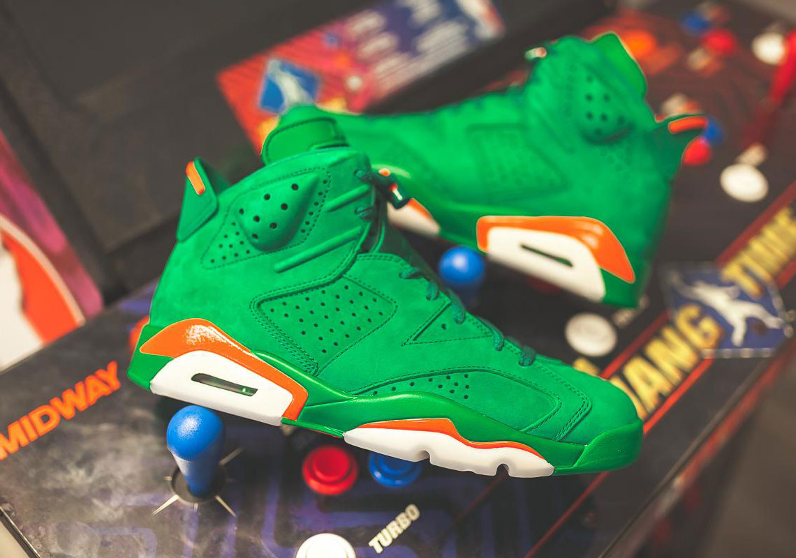 b2a10002a17 The Long Awaited Gatorade-Inspired Air Jordan 6 s Are Dropping Soon ...