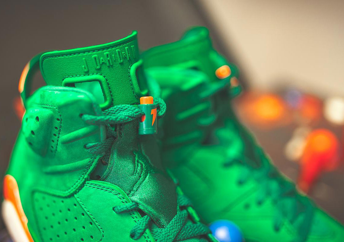 5f9a8e81556 The Long Awaited Gatorade-Inspired Air Jordan 6's Are Dropping Soon - MASSES