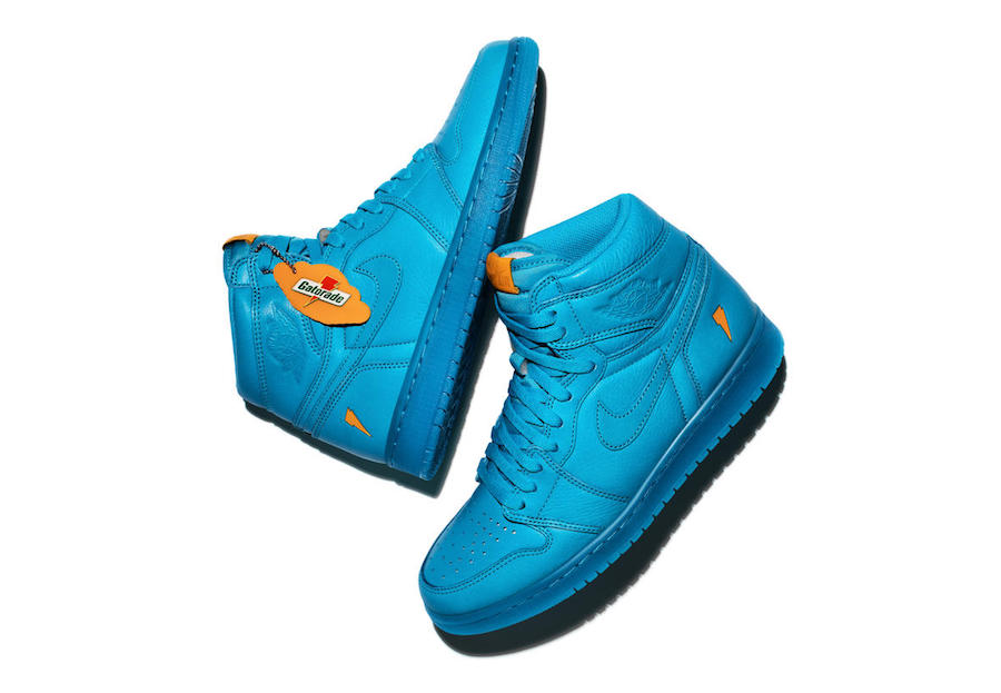 d9c75974a3b970 The Jordan Gatorade Collection Continue To Release Four Flavours Of The Air  Jordan 1 - MASSES