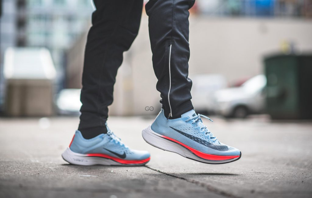 740f338f161 The Nike Zoom Vaporfly 4% was originally designed and built under Nike s   Breaking2  project to create the fastest marathon shoe to enable a  marathon runner ...