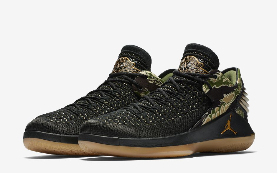 pretty nice 33ca9 15786 Play In Style With The Air Jordan 32 Black Metallic Gold - MASSES
