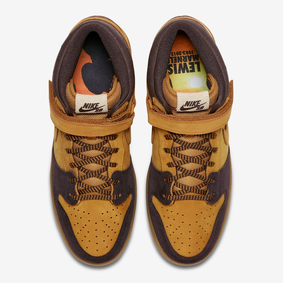 huge discount 54766 b5364 Nike SB Pays Homage To The Late Lewis Marnell By Releasing A ...