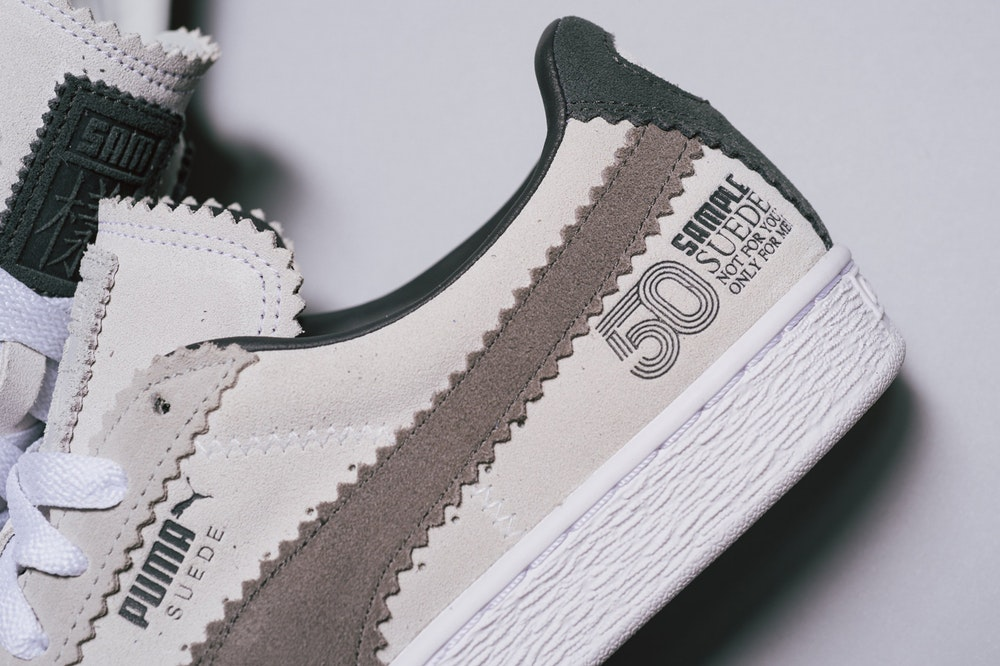 PUMA Suede 50th Anniversary Collaboration With Michael Lau