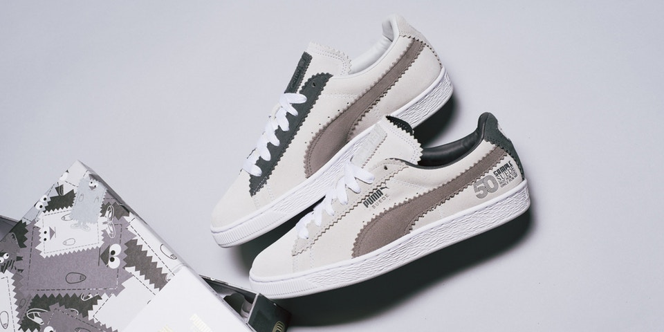 brand new 83076 09418 PUMA Suede 50th Anniversary Collaboration With Michael Lau ...