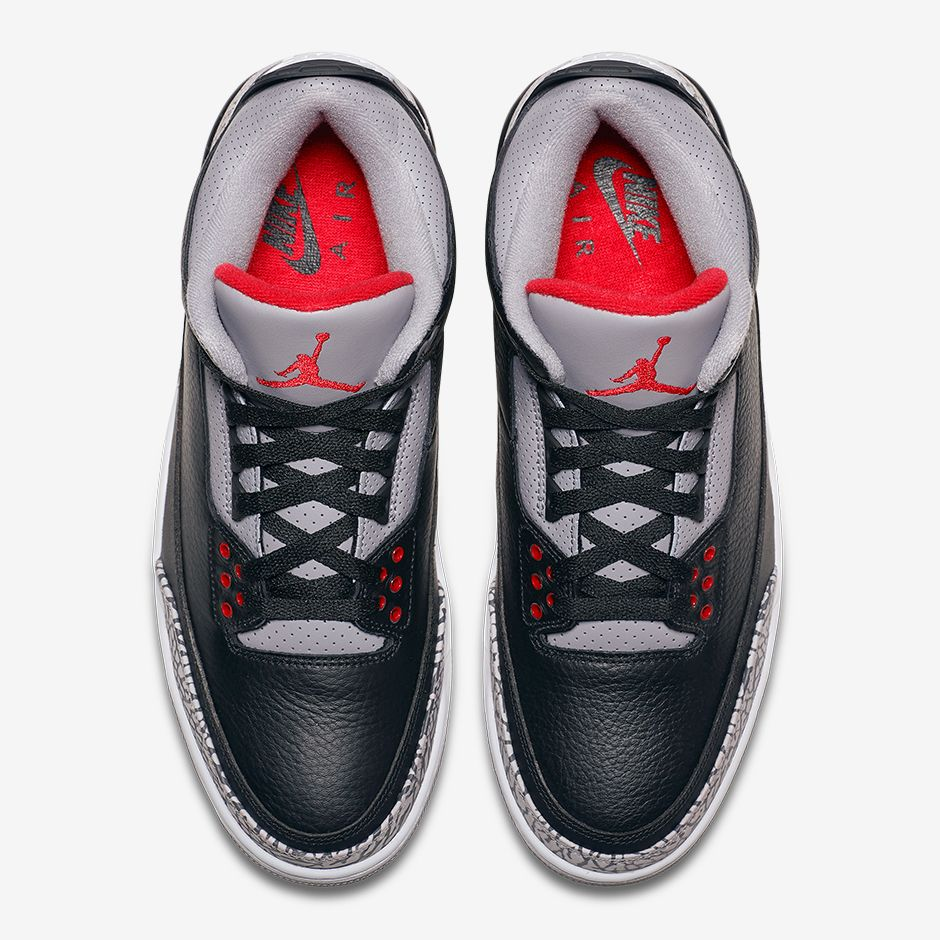 quality design b2a1d 101f1 Jordan Brand Remastered The Black Cement 3 s Back To The OG Days - MASSES