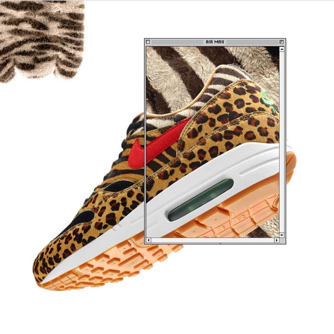 sale retailer 97bd2 32648 Unleash The Animal In You With The atmos x Nike Air Max 1 -