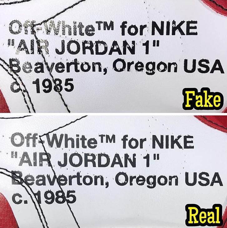 How To Legit Check An Air Jordan 1 x