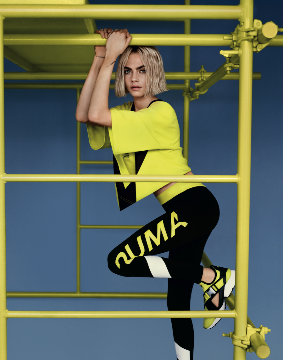 PUMA And Cara Delevingne Release The Muse Cut Out MASSES