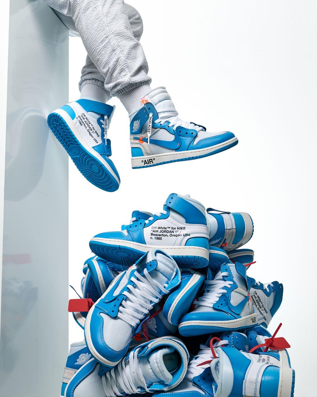 innovative design 049a0 2a26e Do You Feel The Heat? The Off-White x Air Jordan 1 'UNC' Is ...
