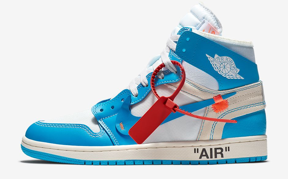 Do You Feel The Heat? The Off-White x Air Jordan 1 'UNC' Is ...