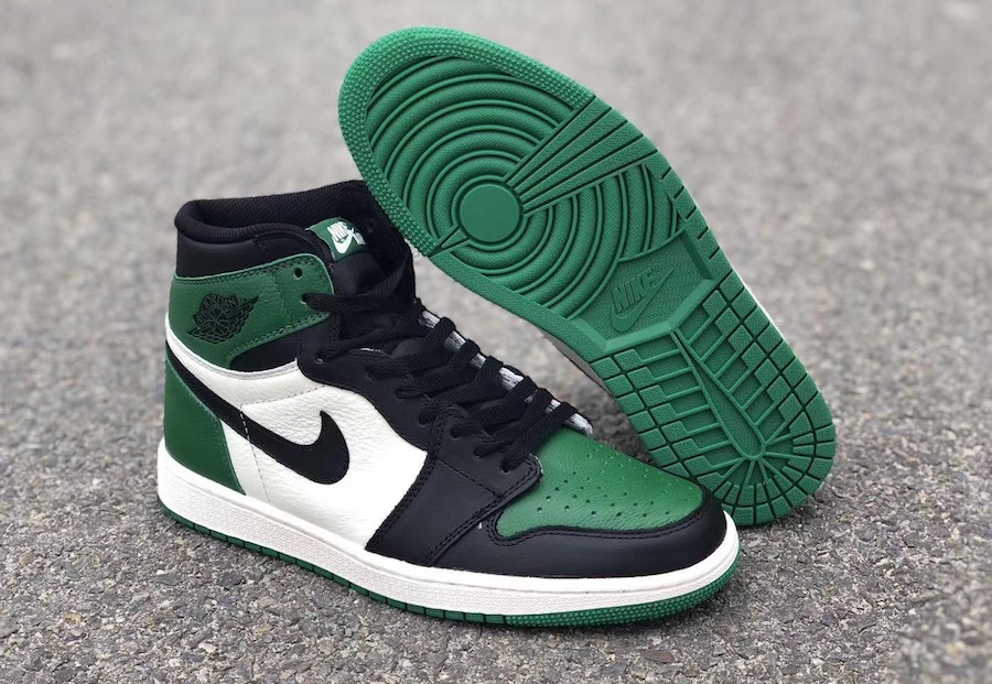 low priced 85417 4e7d1 Air Jordan 1 Pine Green and Court Purple Is Dropping Soon ...