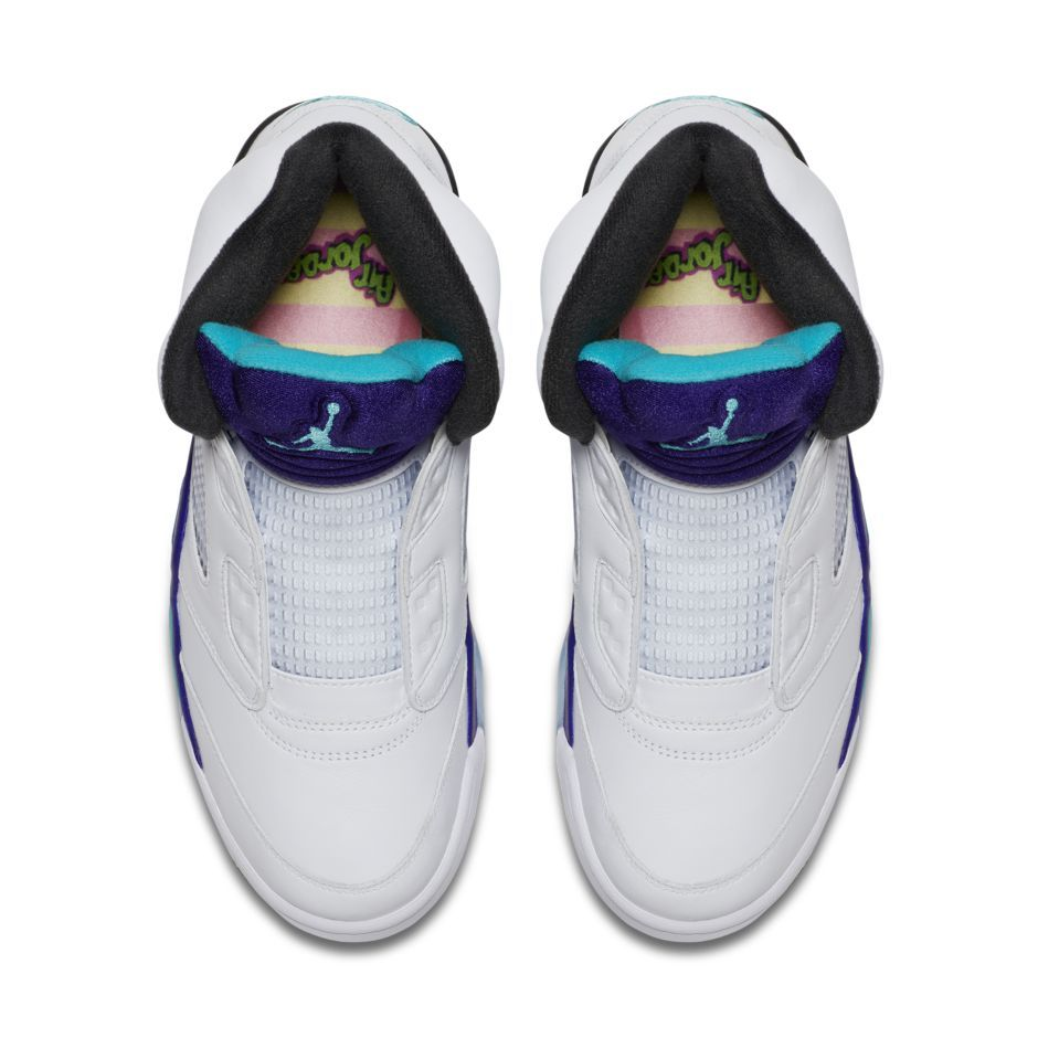 best service 34a04 f57c2 Tribute To The Fresh Prince: The Air Jordan 5 in Grape Is ...