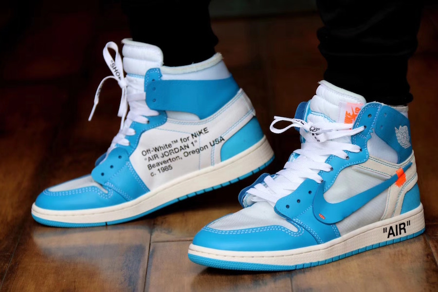 The Off-White Nike Air Jordan 1