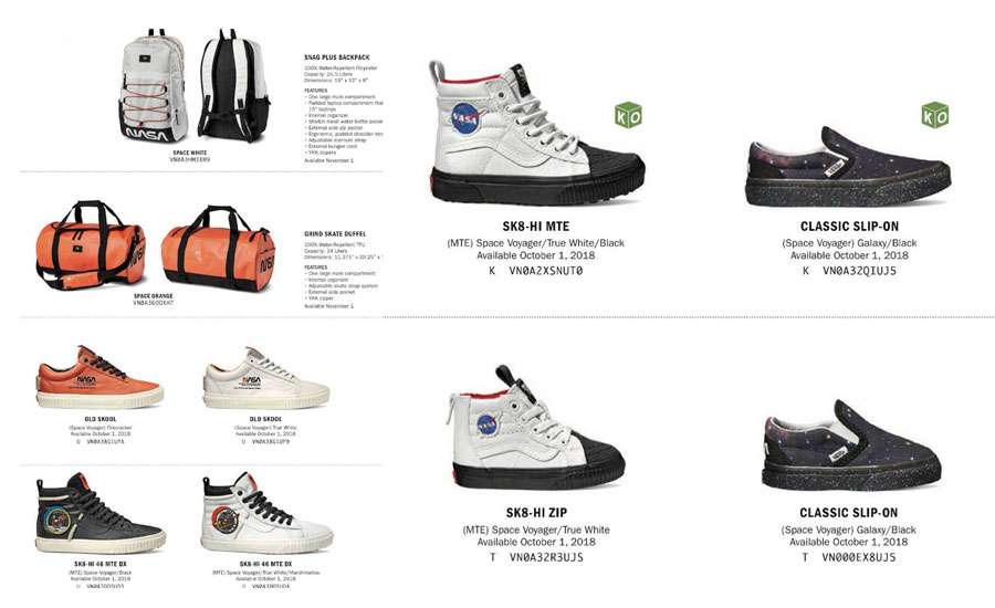 Vans Collaboration With NASA Is Out Of This World - MASSES