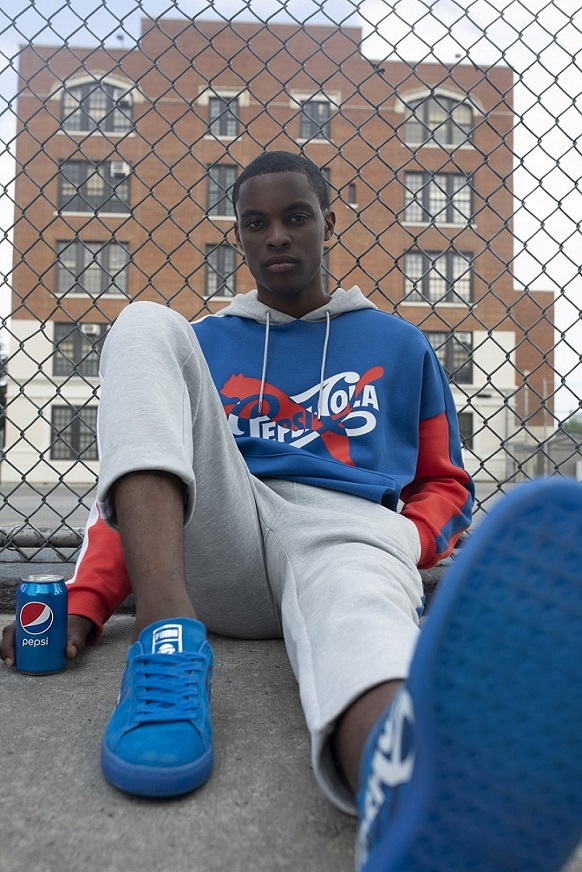 online store 23030 b0156 Pepsi Co. Taps PUMA For A Throwback Collaboration - MASSES