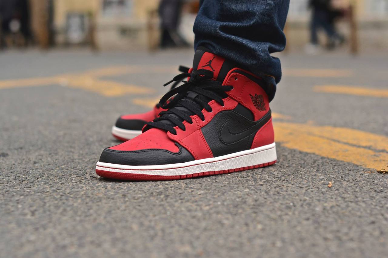 c2aaeff379e495 The Air Jordan 1 Mid has been around in existence for the longest time.  Representing the middle ground between the Hi and Low cut models