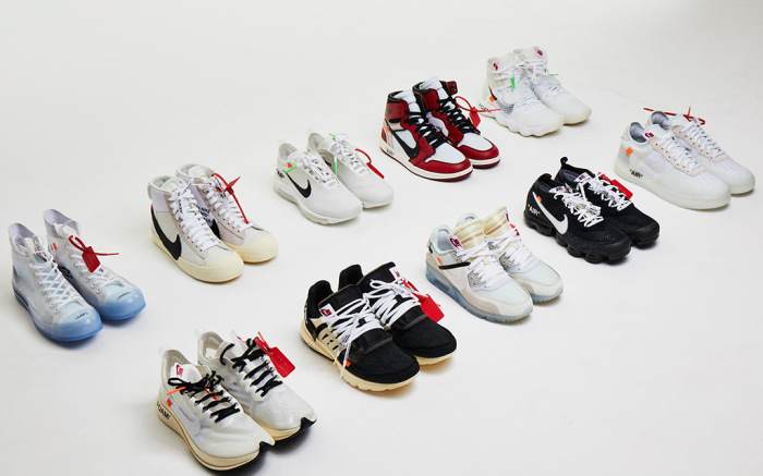 a1b298b1e1b By estimate resell prices, you can net yourself the entire Off-White X Nike  'The Ten' Collection featuring highly sought after models such as the Air  Jordan ...