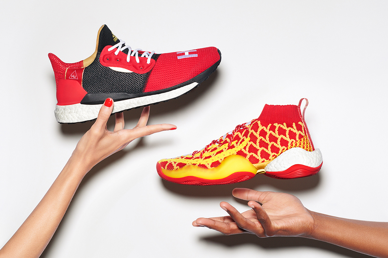 dd11bf5b6 Chinese New Year Comes Early As Adidas and Pharrell Drop The Solar Hu Glide  And Crazy BYW Tomorrow - MASSES