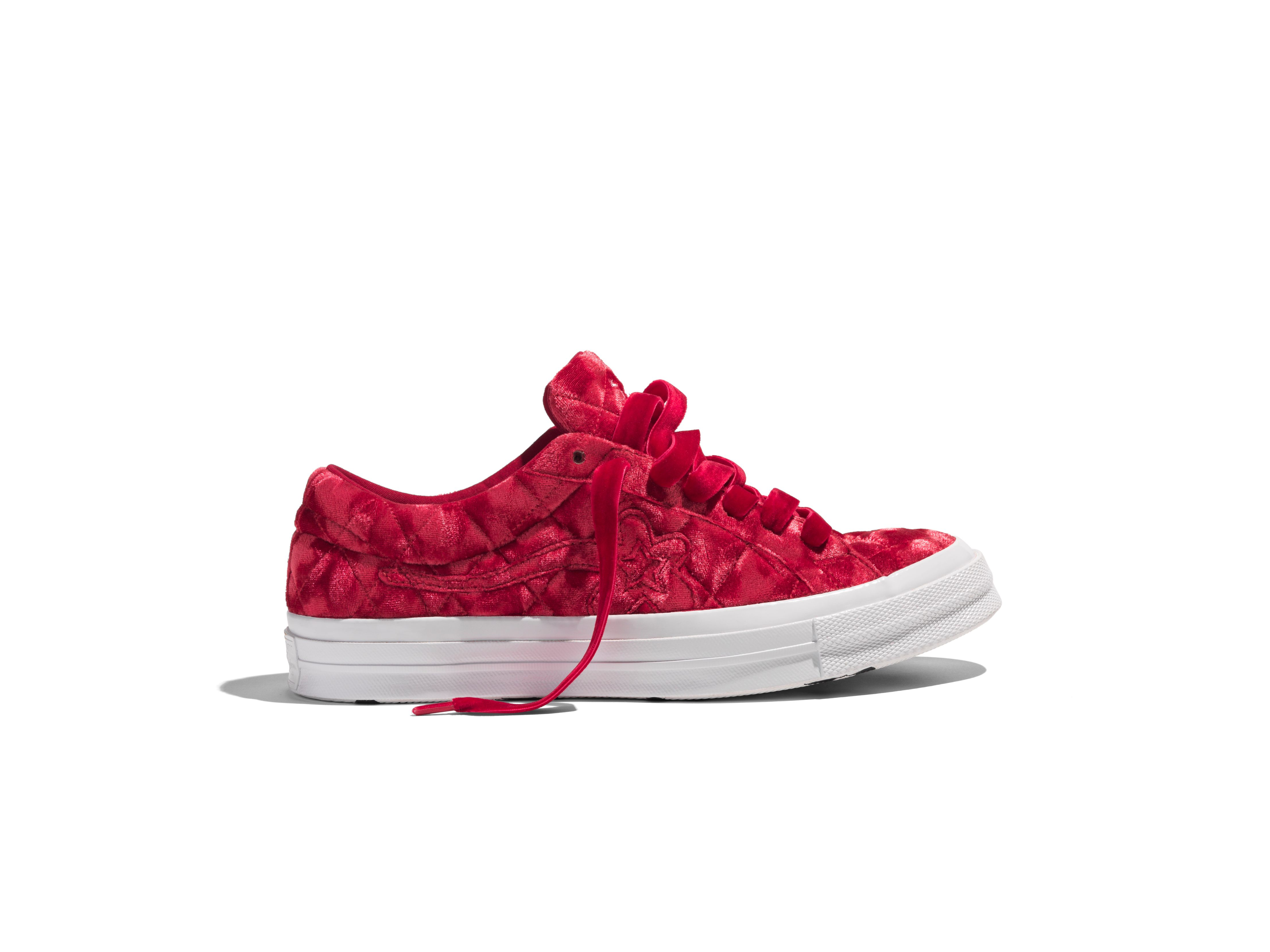 e0db43ac Where To Buy The Latest Converse X Golf Le Fleur 'Quilted Velvet' - MASSES
