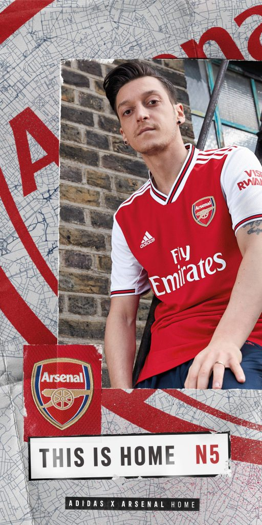 reputable site ddcb1 06502 adidas Welcomes Arsenal With A New Kit For The 19/20 Premier ...
